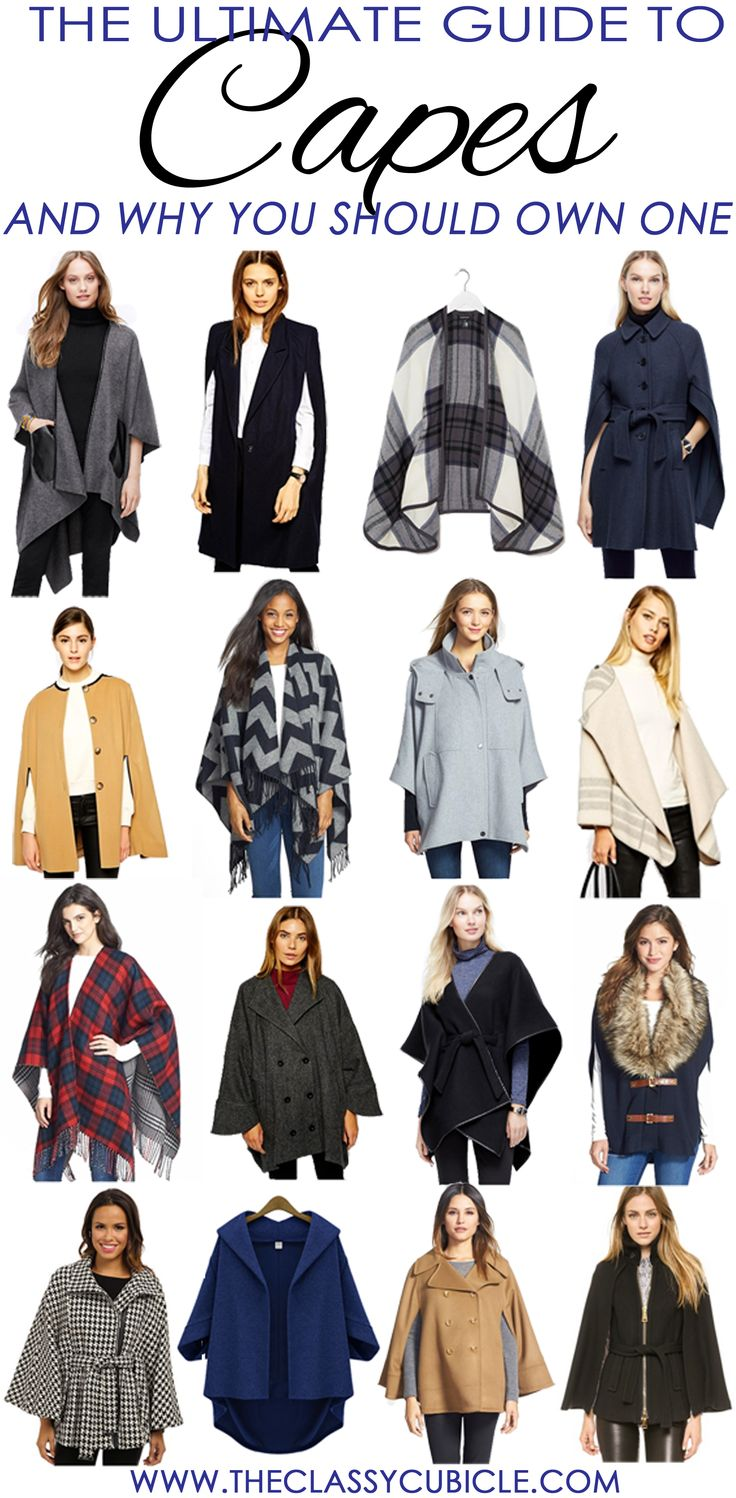 All about capes and why you should own at least one this fall and winter!