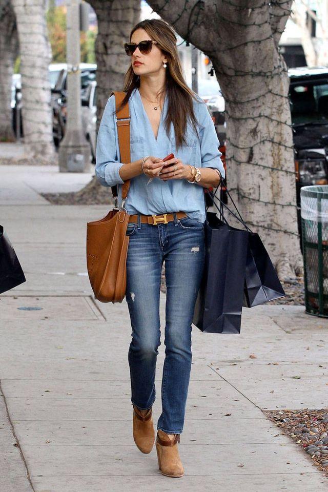 Celebrities Winter Street Style - Photos of Celeb Street Style - ELLE