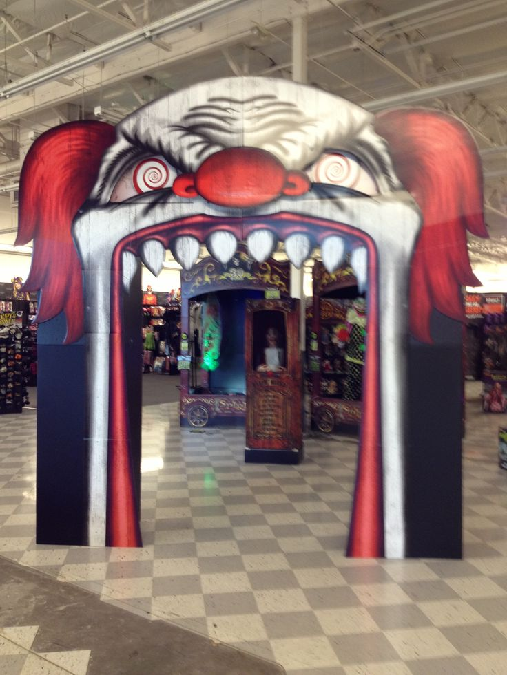 Evil clown archway CarnEvil Pinterest Halloween