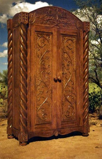 Southwest Style Furniture Totally Hand Carved Made To