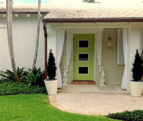 Mid Century Exterior Window Shutters In Palm Beach Was