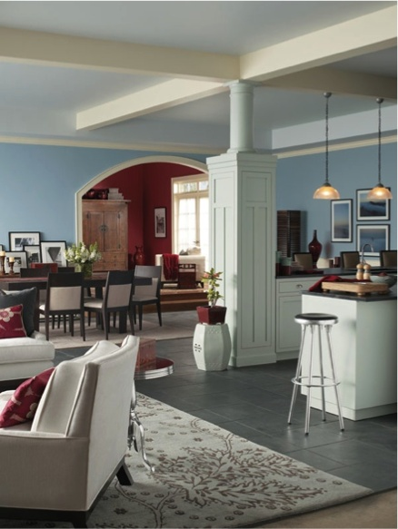 Sherwin Williams Something Blue SW 6800 Paint Colors