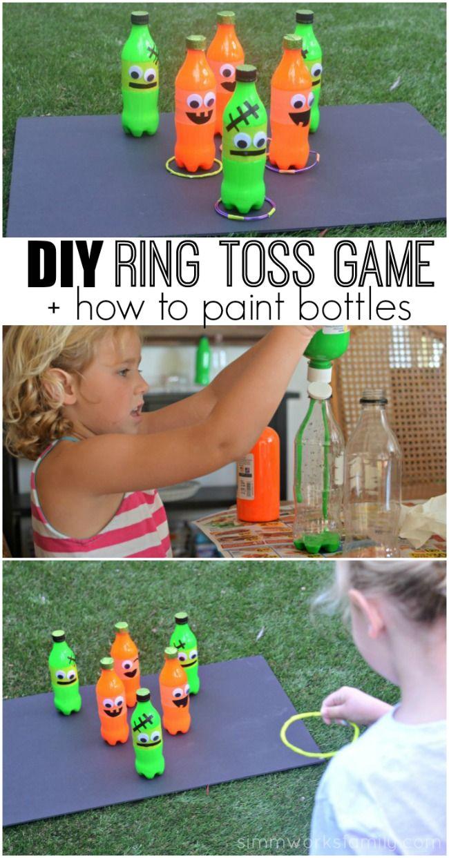 Fall Carnival Games DIY Ring Toss Game Idea Fall