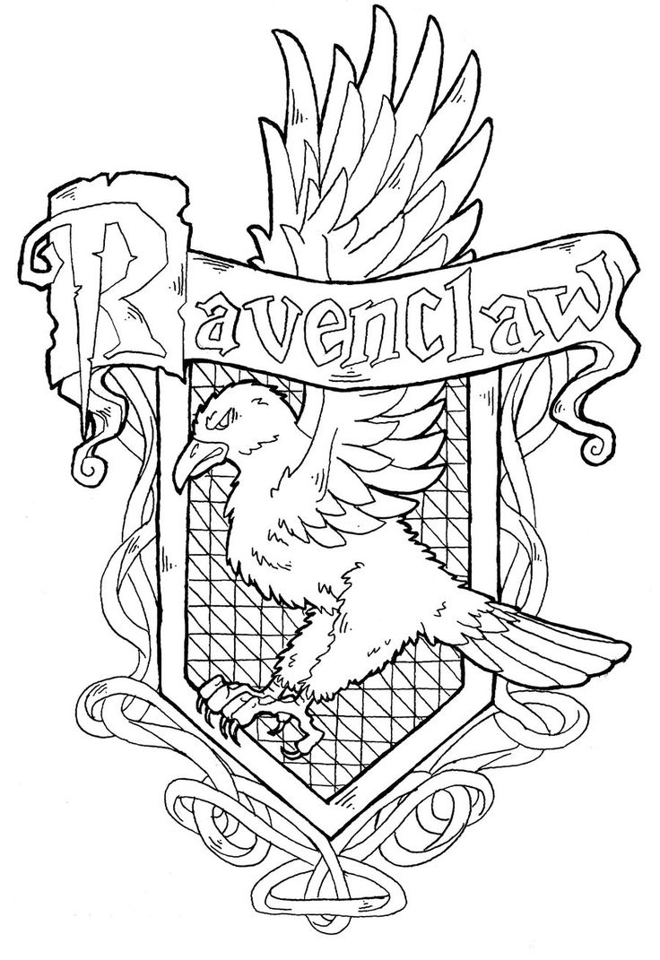 Ravenclaw Crest by on