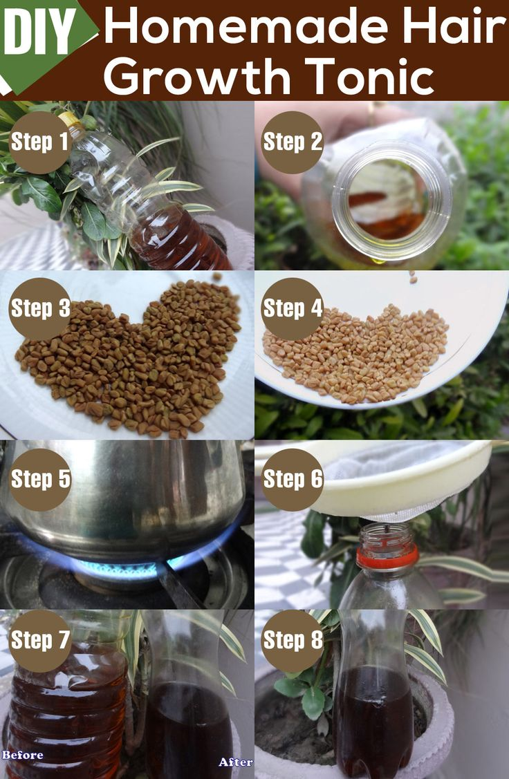 DIY Homemade Hair Growth Tonic Remedies, Castor oil