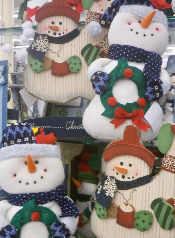 Snowmen Hobby Lobby Jingle All The Way Pinterest