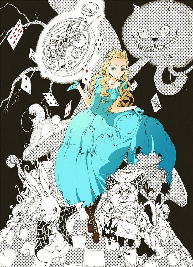 Alice in Wonderland Disney Movie 2010 Anime Wallpaper
