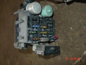 87 Jeep wrangler wiring harness under dash fuse block