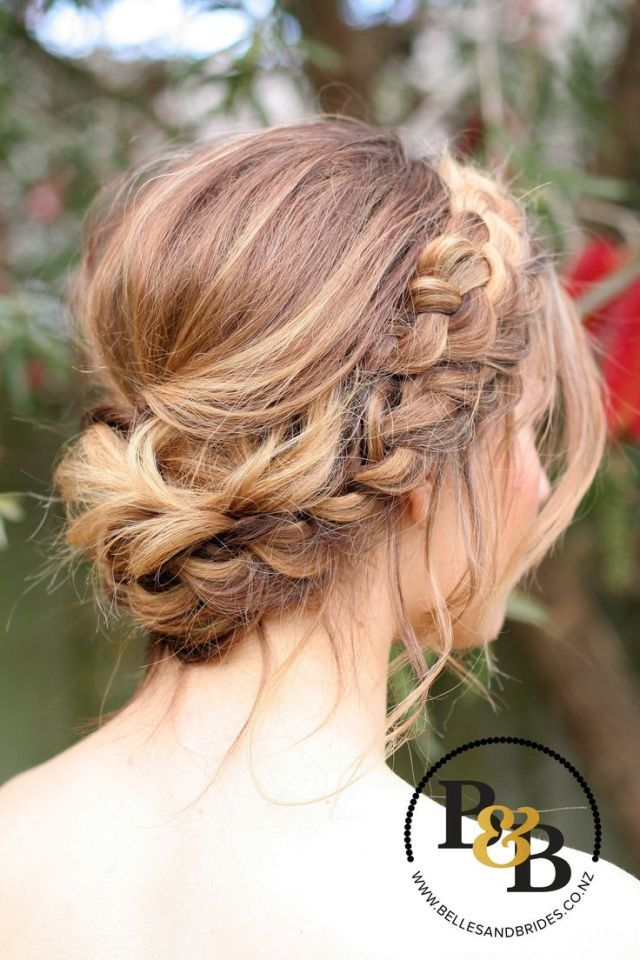 1000 ideas about Bridesmaid Hair on Pinterest