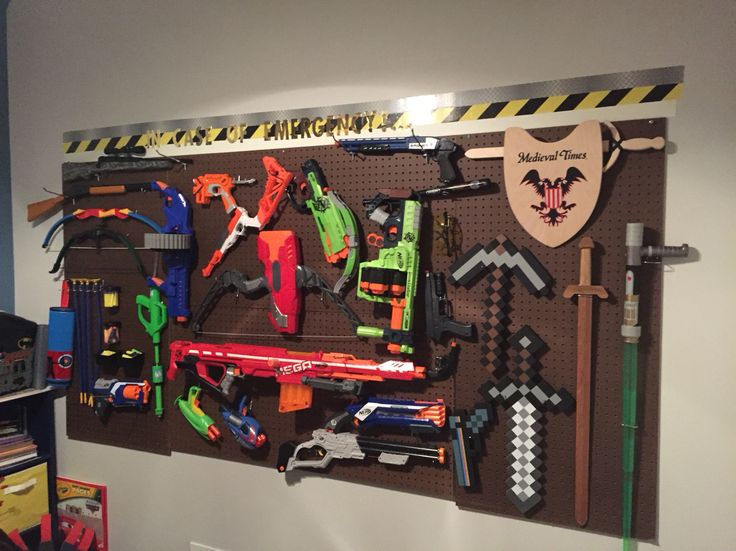 Nerf And Toy Gun Arsenal Under 60 For The Entire Thing