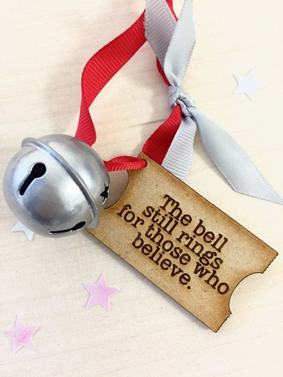 Magic Christmas Bell Polar Express Believe By
