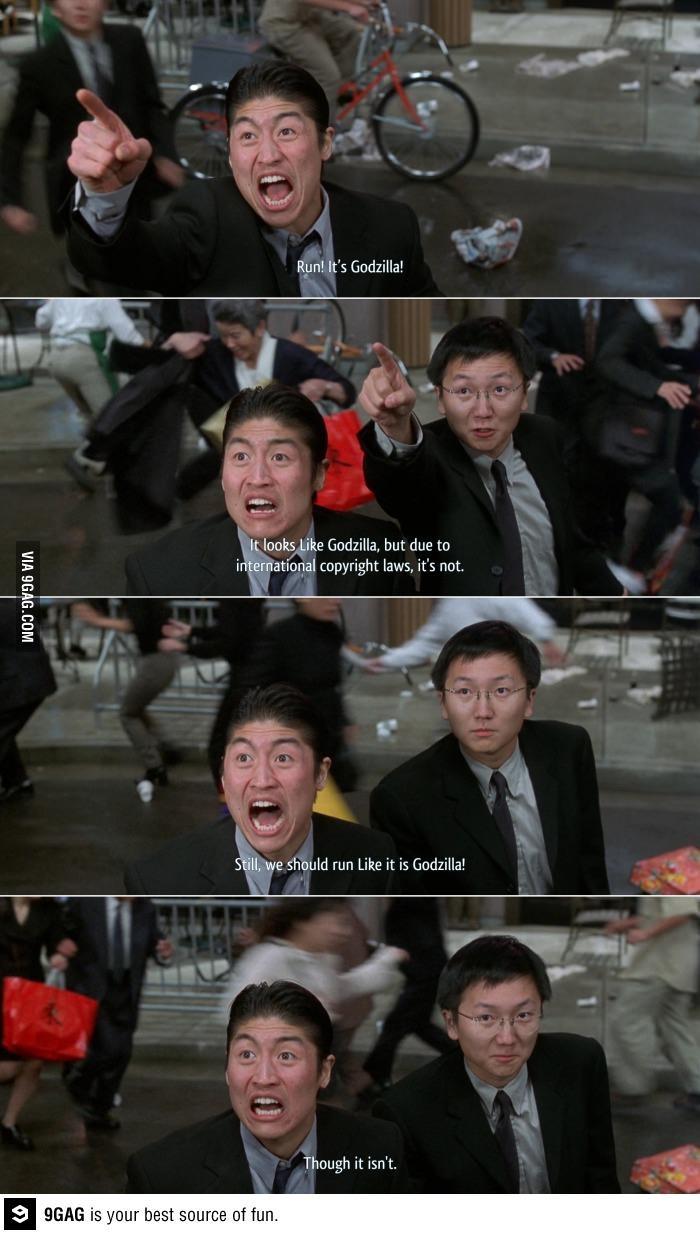 Run! It's Godzilla! Godzilla, Austin Powers and So Funny