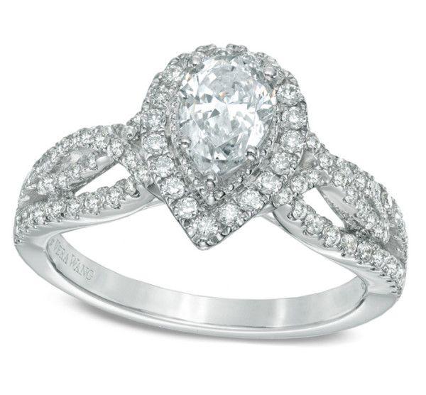 10 Most Beautiful Pear Shaped Diamond Engagement Rings