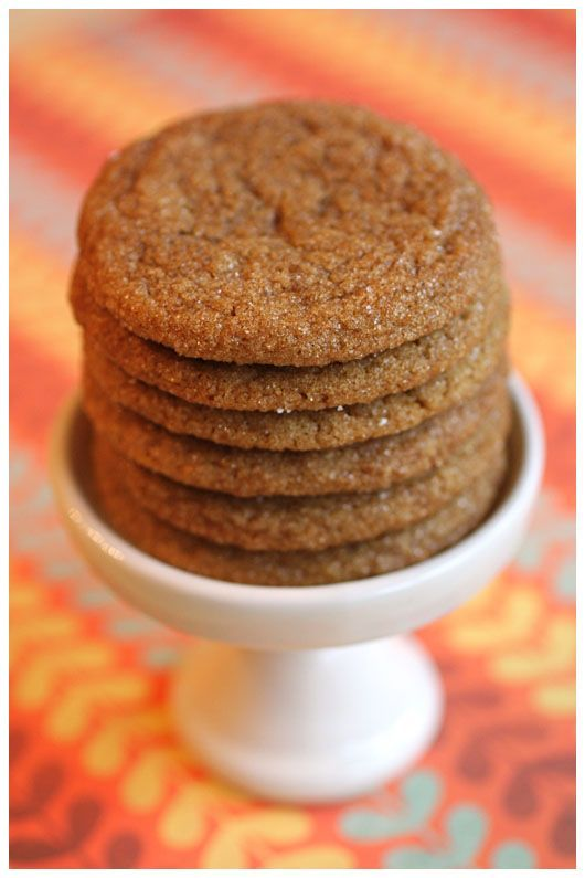 My all-time favorite treat…my great-grandmother's recipe for ginger snaps is the BEST