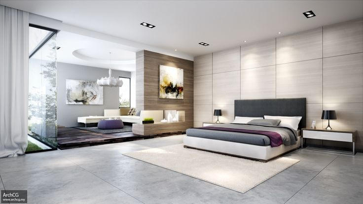 Top 25 Ideas About Small Modern Bedroom On Pinterest