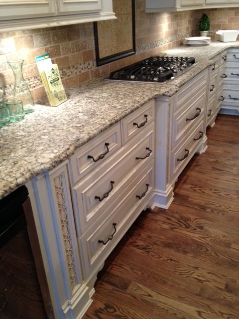 Venetian Pearl Suede Counters Try This Textured Finish