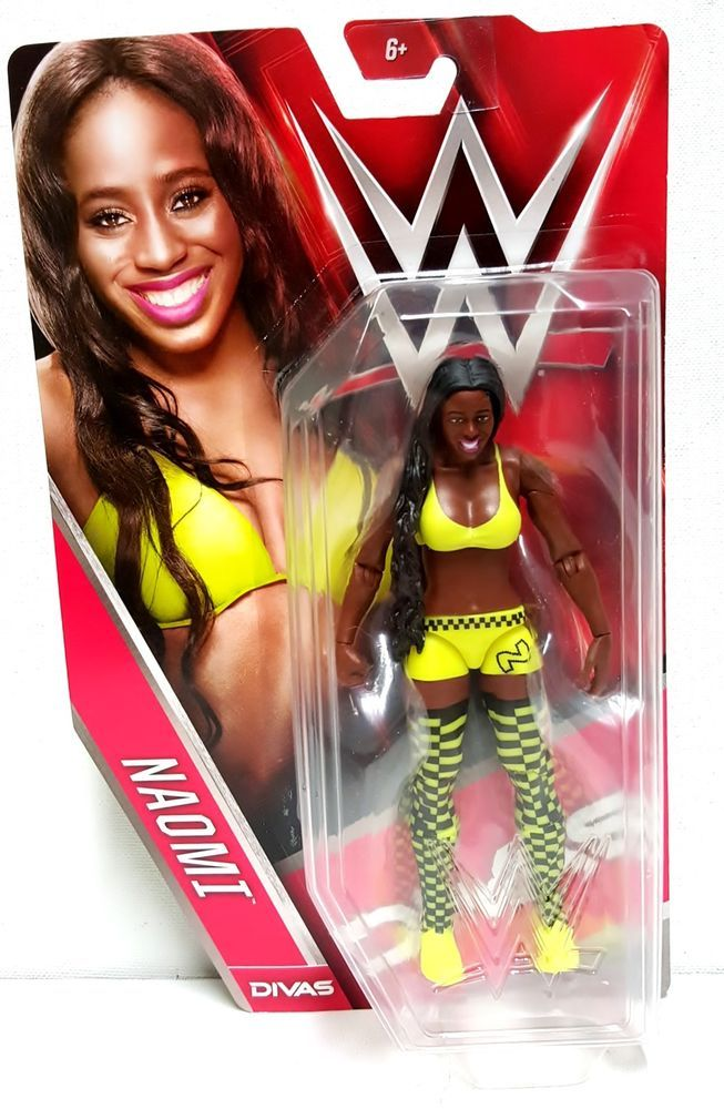 2015 WWE Naomi Divas Basic Wrestling Action Figure Mattel