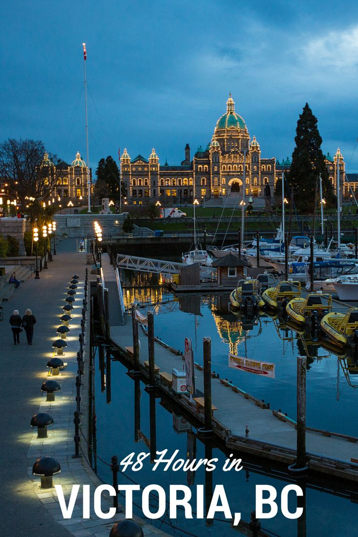 Things to do and where to eat in Victoria, British Columbia, Canada.