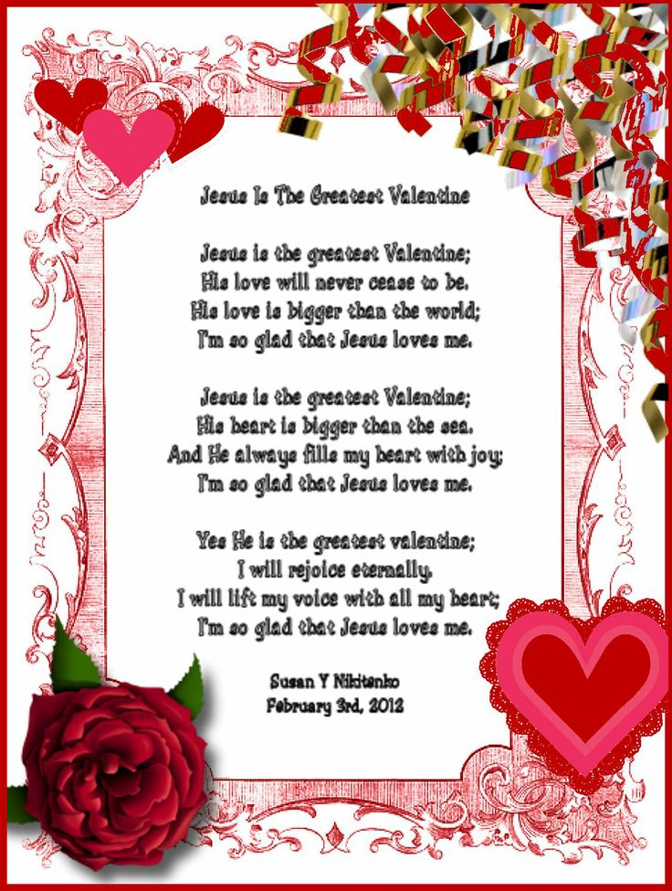 Christian valentines day crafts http