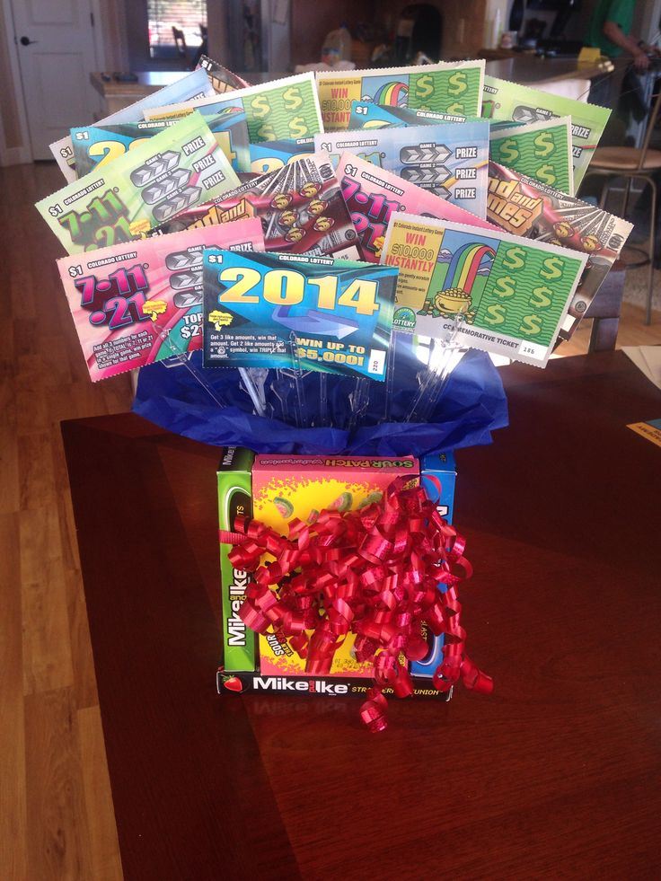Lottery Ticket Bouquet Craft Projects Pinterest More