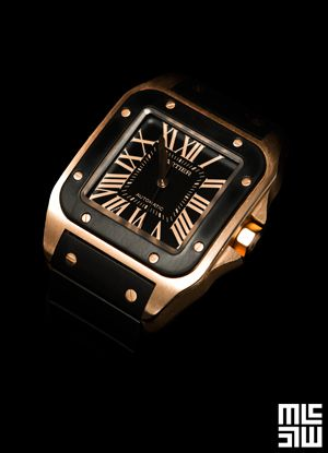 1000 Ideas About Cartier Santos Watch On Pinterest