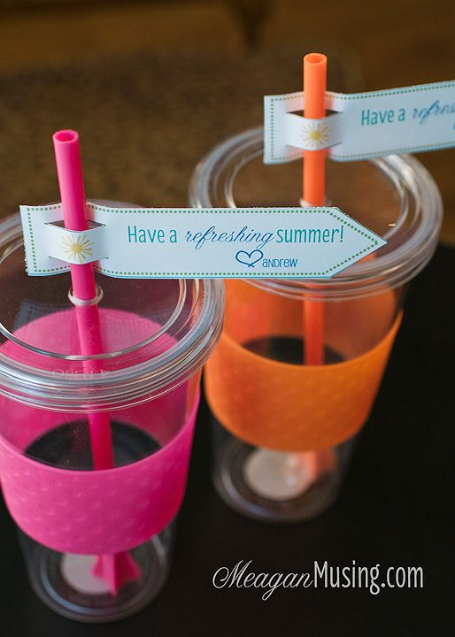 Have A Refreshing Summer Cute Gift Card Holder Idea For