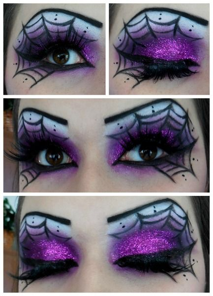 Spiderweb Eyeshadow www.makeupbee.com…