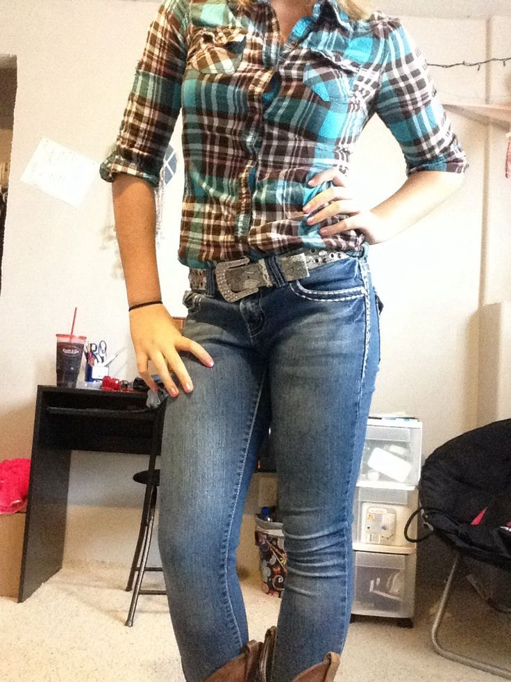 Download Country outfit | Completes my outfits with Justin boots ...