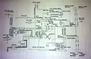 Kubota wiring schematic together with kubota g1900 wiring