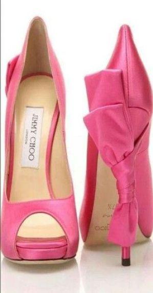 Jimmy Choo Cute Cute Cute!!! Bebe'!!! So pretty in pink!!!