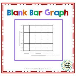 Blank Bar Graph Freebie   1st Grade   Pinterest   Free