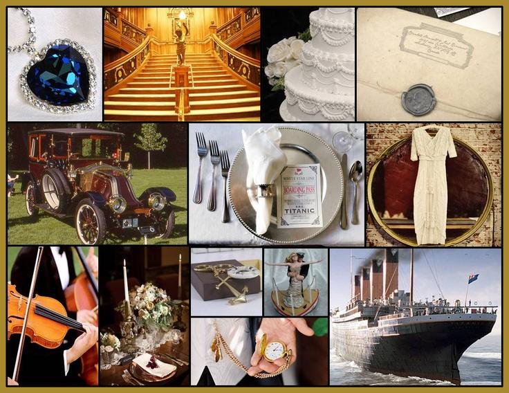 261 Best Titanic Movie Themed Wedding Images On Pinterest