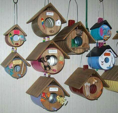 17 Best Ideas About Tin Can Crafts On Pinterest Recycled