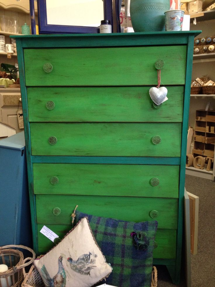 Chest Of Drawers In Annie Sloan Chalk Paint Florence And