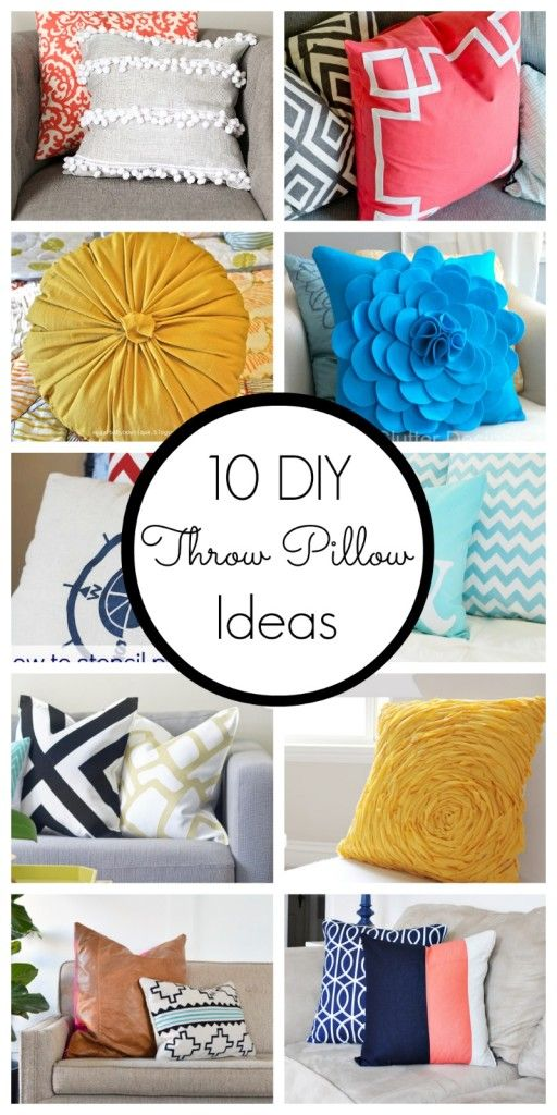 10 DIY throw pillow ideas   Spruce