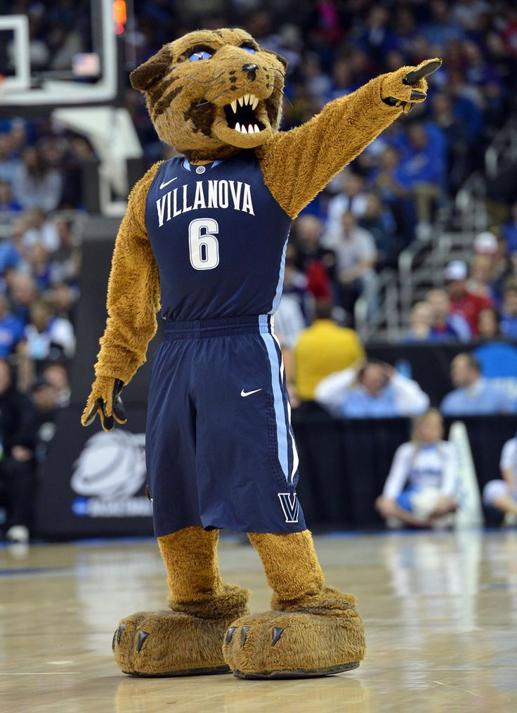 Will D. Cat, Villanova Wildcats mascot. College Mascots