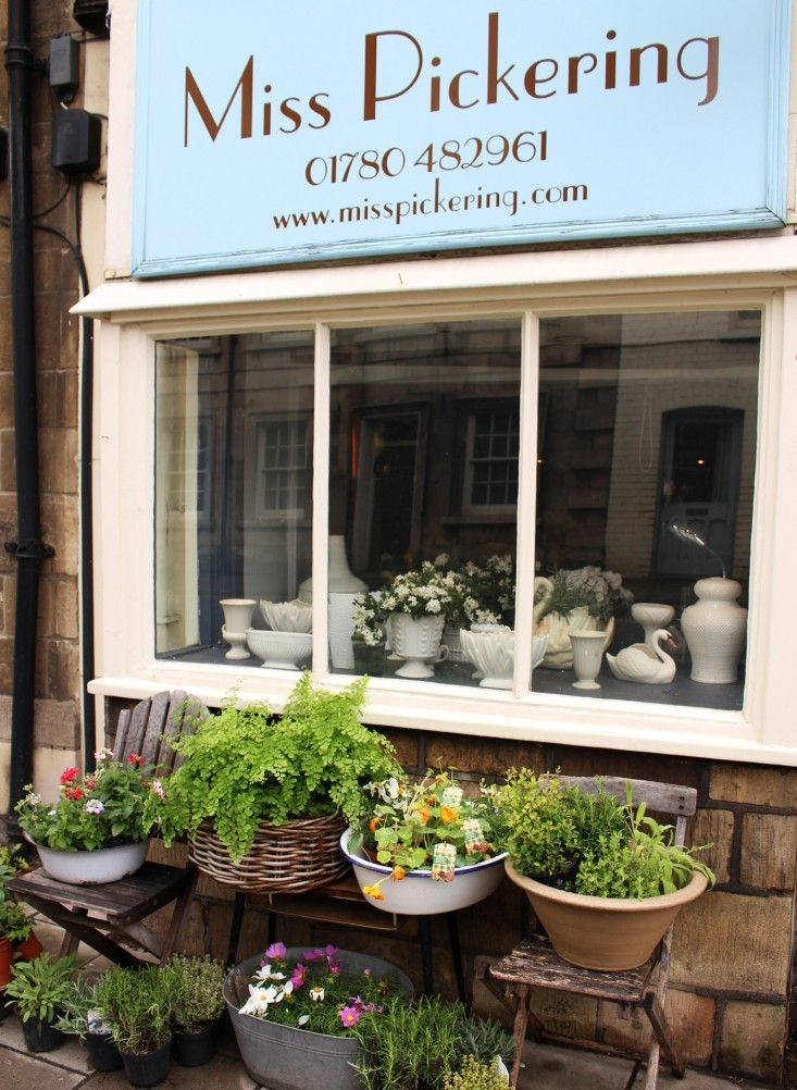 Miss Pickering's Flower Shop in Stamford, Lincolnshire