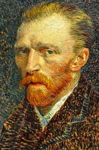 Vincent van Gogh - Self Portrait, 1887: