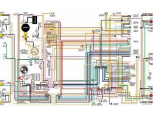 1955 t bird wiring diagram | 1955 55 Ford Thunderbird (TBird) 11X17 Color Laminated Wiring