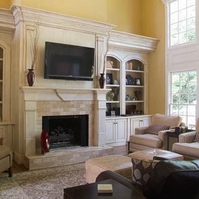 Image Detail For Custom Fireplace Built Ins Design