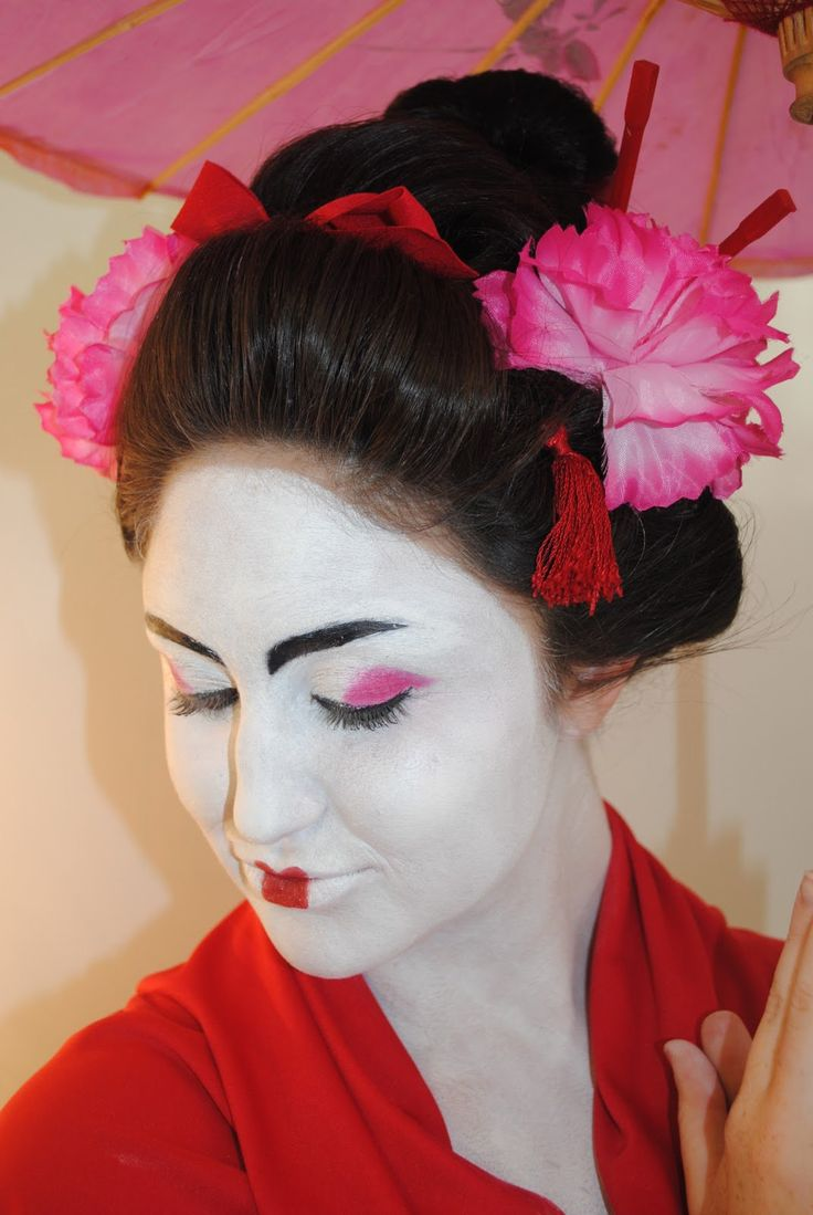 7 Beau Coiffure Geisha Inspirations Tutorial Hijab