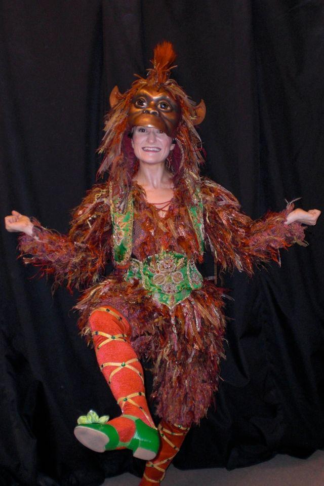 Costume Jungle King Louie Book