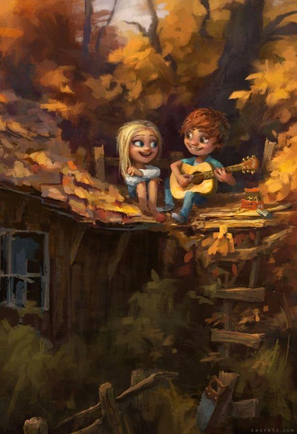 Romantic Illustrations by Zac Retz: