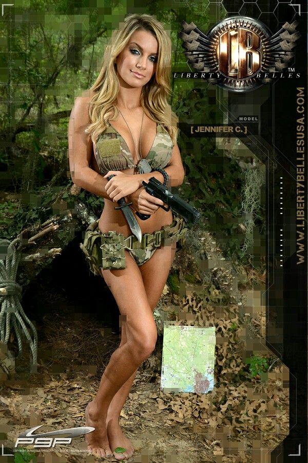 Liberty Belles Model Jennifer Tactical Girls The