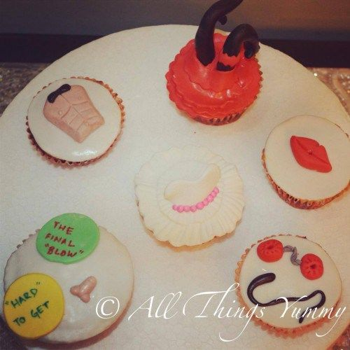 Bachelorette Cupcakes 6 For An Unforgettable Hen S Night All Things Yummy