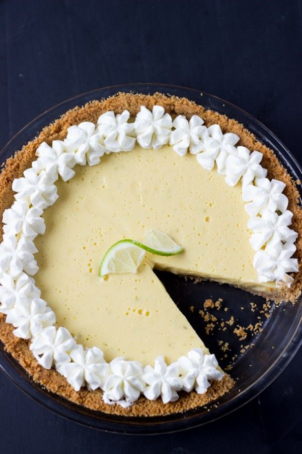 Classic Key Lime Pie Recipe – creamy, luscious and perfectly tart with fresh key lime juice.