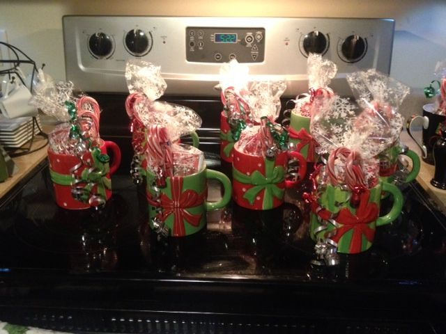 Easy, Cheap, And Fun Gifts For Coworkers. Christmas Mugs