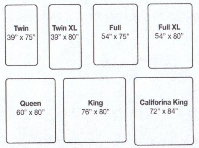 Inspiration King Mattress Sizes