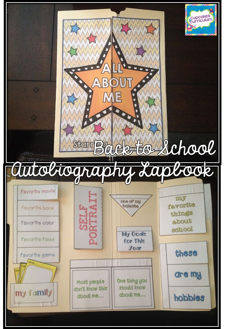 All About Me Audiobiography Lapbook