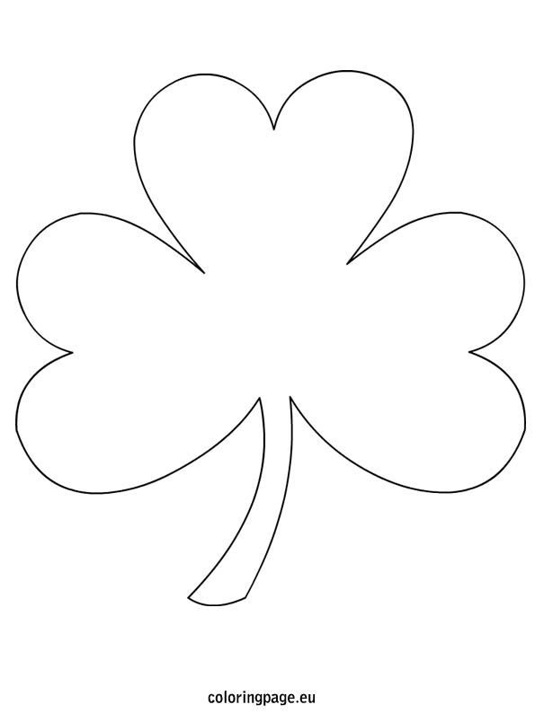 page free from coloringpage eu lots of free shamrock coloring page